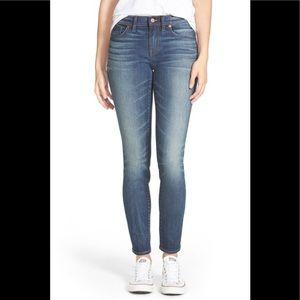 Madewell skinny skinny jeans sz 25